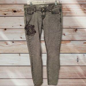 Express studded size 10 jeans